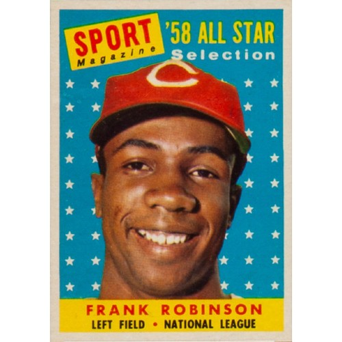 1958 Topps Baseball Frank Robinson