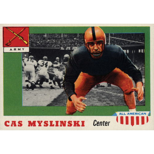 1955 Topps All American Football card 25