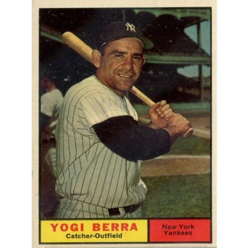 1961 Topps Baseball Berra