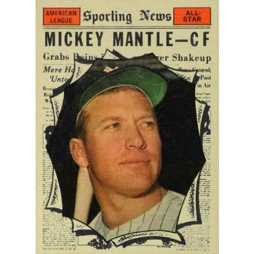 1961 Topps Baseball Mantle