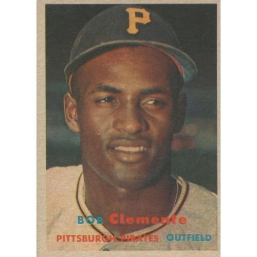 1957 Topps Baseball Clemente
