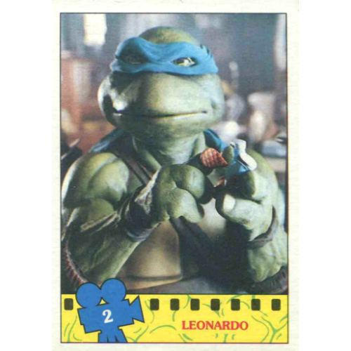 Series 2 Stickers 1990 Teenage Mutant Ninja Turtles TMNT Topps Various