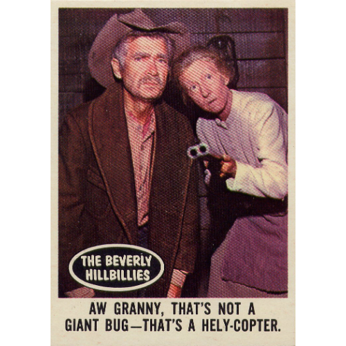 1963 Topps Beverly Hillbillies Gallery