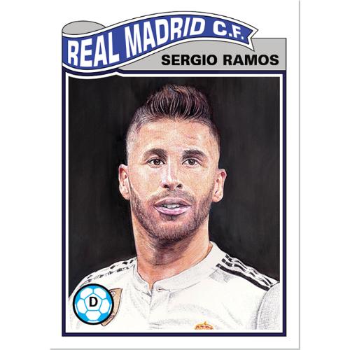 Topps UCL Living Set 4 Sergio Ramos