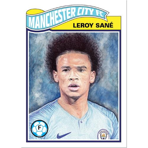 Topps UCL Living Set 5 Leroy Sane