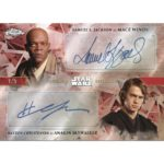 2019 Topps Star Wars Chrome Legacy Dual Auto