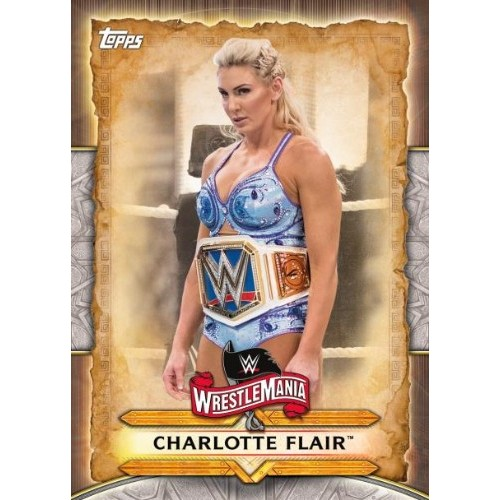 2020 Topps WWE Road to WrestleMania Roster #WM-47 Sonya Deville Wrestling Trading Card