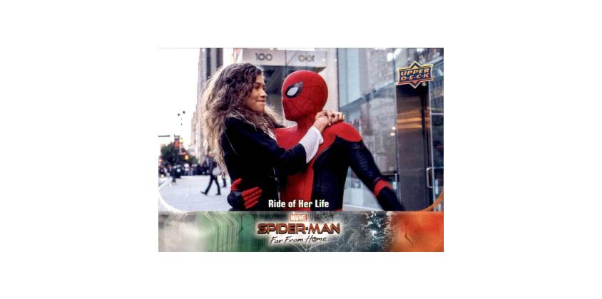 2019 Upper Deck Spider Man Far From Home checklist