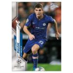 2019/20 Topps Chrome UEFA trading card checklist