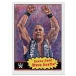 Topps WWE Living Set trading card checklist
